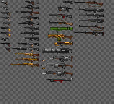 CamoTactics - Weapons by hail-the-oblivious