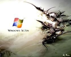 windows 7 wall by aminemax