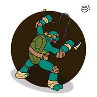TMNT - Party Dude by ConnerCoon