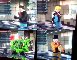 TTT2 Costumes: DBZ Androids by cremep0ps