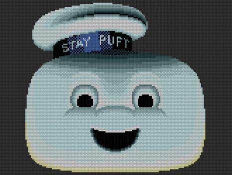 Lego Stay Puff Marshmallow Man by drsparc