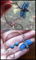 Dragonfly ear wrap by JSjewelry