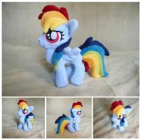 Rainbow Dash filly by Spark-Strudel