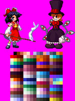 Peacock Touhou Styled by Greasy-LucarioYun