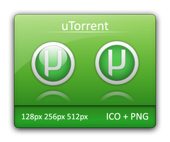 uTorrent Dock Icons by Vathanx