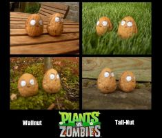 Plants vs Zombies Nuts by Newhound
