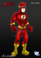 DCU - Flash - Barry by TheoSar