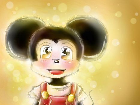 Young Mikey Mouse by MariaCool1234