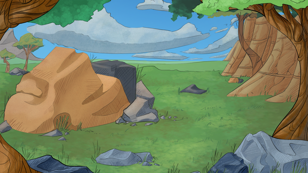 Dragon Animation Background by CoyoteEsquire