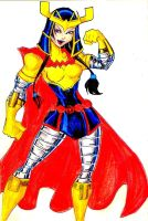 Teen Titans A-Z : Little Barda by kidmarvelj