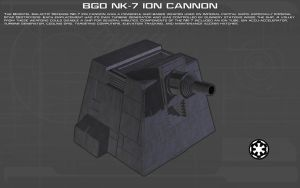 BGD NK-7 Ion Cannon Tech Readout [New] by unusualsuspex