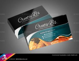 Chef Caterer Business Card Template by AnotherBcreation