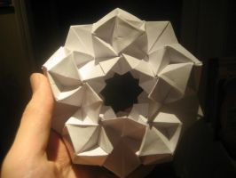 Origami Stargate by musicmixer112