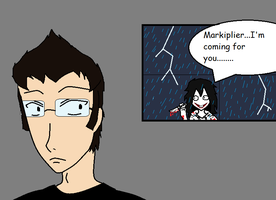 Markiplier Meets Jeff The Killer by MagoichiX