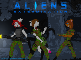 Contest Entry: ALIENS by TheGoldenCrowbar