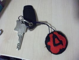 Valve Felt Keyrings by rocketjumpwaltz
