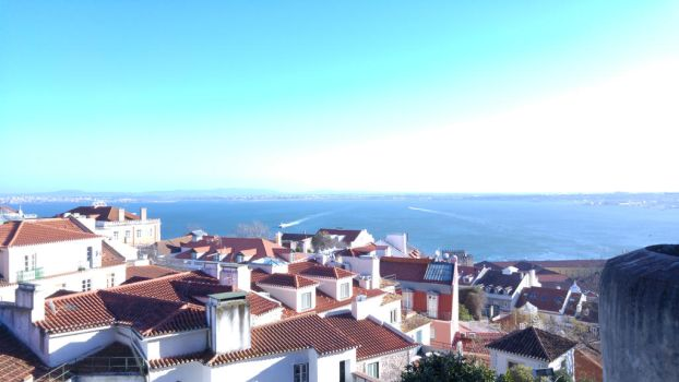 lisboa City view by Revolutionist1