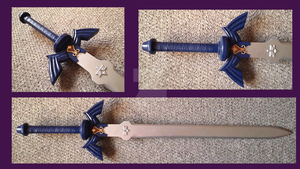 Master Sword by hohenheimelric