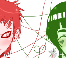 Green and Red by Numbuh-9