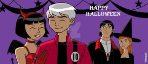Happy Ben10 Halloween part1 by 4eknight11