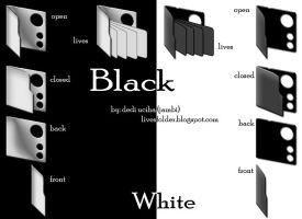 Lives Folder Black White V.1 by s4r1n994n