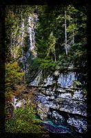 Breitachklamm surreal by deaconfrost78