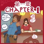 Korra and Asami Adventure: p1 by Artsypencil