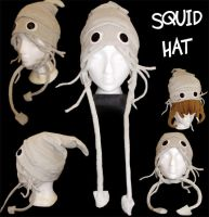 Squid Hat by muffin-wrangler