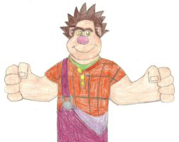 Wreck-It Ralph by MollyKetty