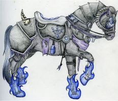 Dervish :: Death Knight Mount by SP-Gorse