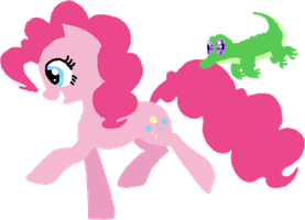 Pinkie and Gummy by Dragon-Flash