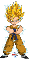 Goku's doll Super Saiyan 2 by Dairon11