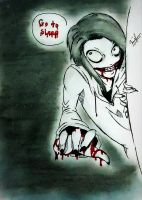 Jeff the killer by The-Girlwith-Glasses