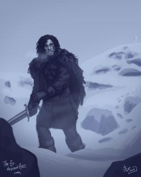 Jon Snow is Still Sad by The-Ez