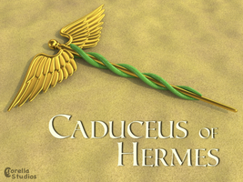 Caduceus of Hermes by CorellaStudios