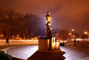 The Spartan at Night by quetwo