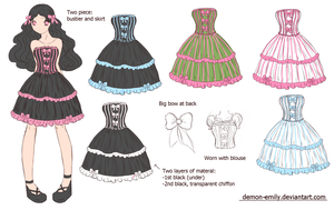Bodyline design contest winner by Demon-Emily