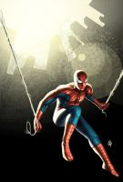 Spider Man fanart by rainerpetterart