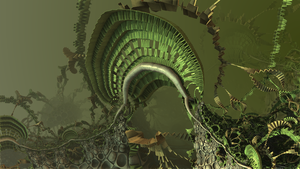 Fractal Jungle Plants by hypex2772