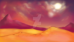 new desert backround by torokthetroll