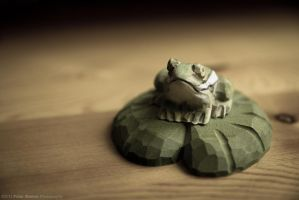 Wood Frog by Frog-studios