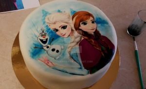 Frozen cake by silviasisa