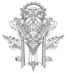 Hoard Crest by all-one-line