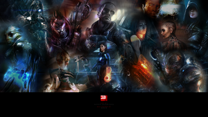 Mass Effect 3 Wallpaper by Zenin-Amit