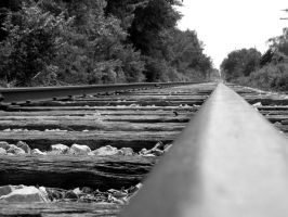 Just Another Picture of Tracks by KathrynAnn