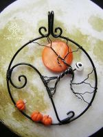 The Pumpkin King *SOLD* by RachaelsWireGarden