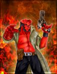 Hellboy_commission by Terrible-Doll