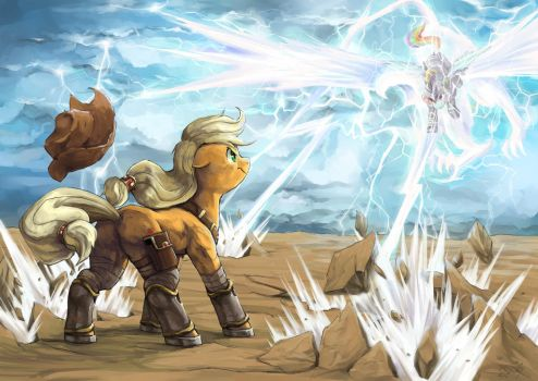 Earth and Thunder by Audrarius
