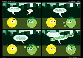 CC373- Ted's Finest Hour by simpleCOMICS