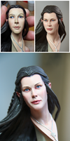 Full repaint - Arwen (Lord of the Rings) statue by DarrenCarnall